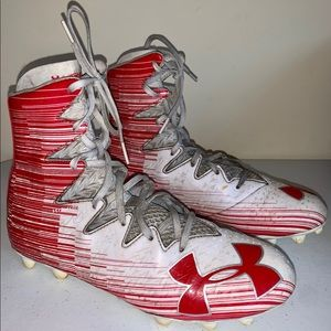 Under Armour Football Cleats Size 8 Men's